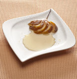 Pear dessert Stock Image