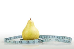 Pear and diet Royalty Free Stock Photos