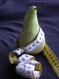 Pear on Diet Stock Photos