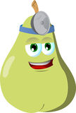 Pear doctor Royalty Free Stock Images