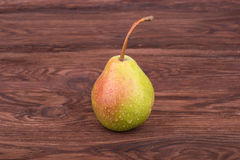 Pear with drops Royalty Free Stock Photos