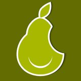 Pear. eps10 Royalty Free Stock Image