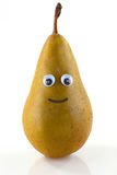 Pear with face Royalty Free Stock Photo