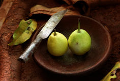 Pear fruit Stock Photography