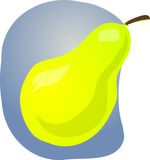 Pear fruit illustration Royalty Free Stock Photo