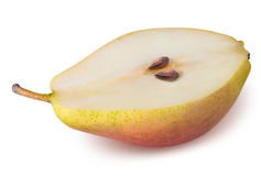Pear fruit  isolated on white background Royalty Free Stock Photography