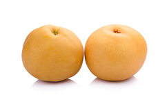 pear fruit over white background Stock Photography