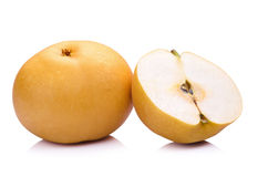 pear fruit over white background Royalty Free Stock Photography