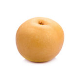 pear fruit over white background Royalty Free Stock Images