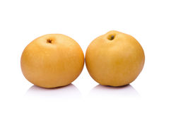 pear fruit over white background Royalty Free Stock Photos