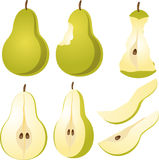 Pear Illustration Stock Photo
