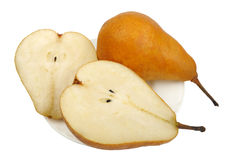 Pear, isolated Royalty Free Stock Images
