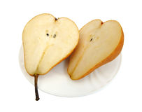 Pear, isolated Royalty Free Stock Photo