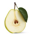 Pear isolated over white Royalty Free Stock Photo
