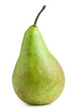 Pear isolated on white background. Fresh green pear isolated on white background Stock Photography