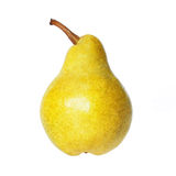 Pear isolated on white Stock Photos