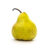 Pear isolated on white Stock Photo
