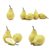 Pear isolated on white background Stock Images