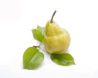 Pear isolated on white background. In studio stock photos