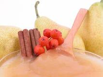 Pear jam Stock Image