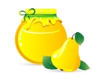 Pear jam Stock Photography