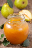 Pear jam. Royalty Free Stock Images