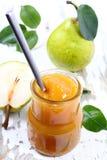 Pear jam. Stock Photos