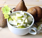 Pear jam. Stock Image