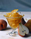 Pear jam. Royalty Free Stock Photography