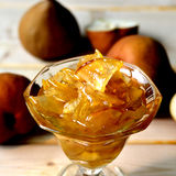 Pear jam. Stock Images