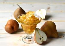 Pear jam. Royalty Free Stock Image