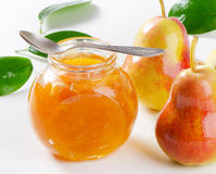 Pear jam Royalty Free Stock Photography
