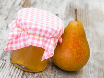 Pear Jelly Royalty Free Stock Image