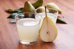Pear juice Royalty Free Stock Photo