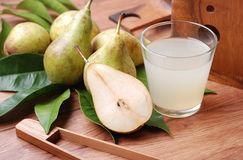Pear juice Royalty Free Stock Images