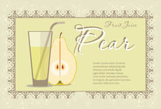 Pear juice Royalty Free Stock Image