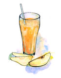 Pear juice Stock Image