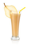 Pear juice isolated Royalty Free Stock Photos