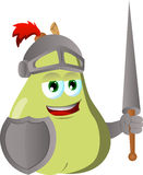 Pear knight Stock Photography