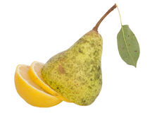 A pear or a lemon ? Royalty Free Stock Photography