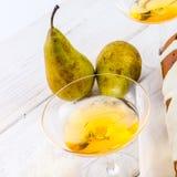 Pear liqueur Royalty Free Stock Photo