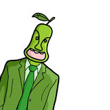 Pear man Stock Photos
