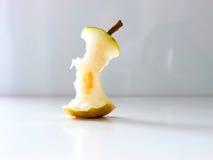 Pear nibble. The green vegetable Pear nibble Stock Photos