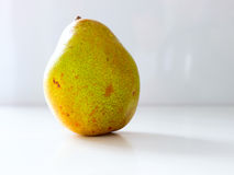 Pear nibble. The green vegetable Pear nibble Stock Image