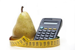 Pear and overload Stock Image