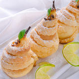 PEAR in pastry Stock Photos