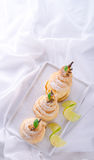 PEAR in pastry Royalty Free Stock Photography
