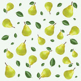 Pear pattern Stock Photo