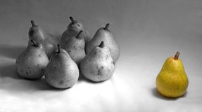 Pear,pears. War situation Stock Photos
