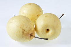 Pear. S under the white background Royalty Free Stock Photo